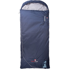 Grüezi-Bag Biopod Wolle Marmot Comfort Sac de couchage, night blue